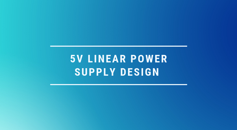 5V power supply design and simulation