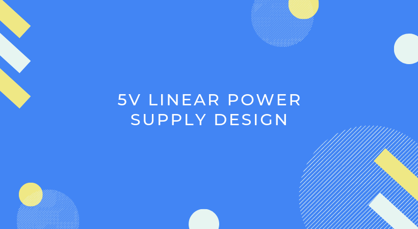 5V power supply design