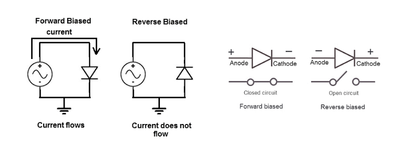 forward and reverse diode
