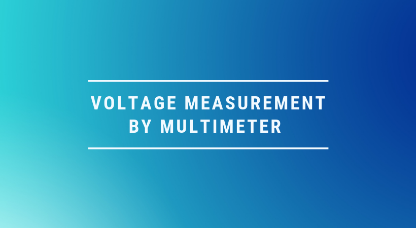 how multimeter measures voltage Ac and Dc