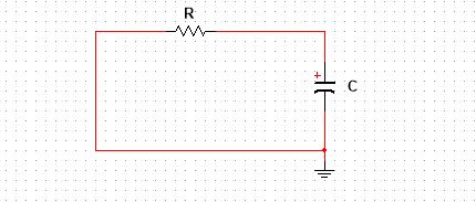 Series RC circuit