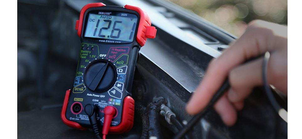 innova 3320 reviews, best beginner multimeter