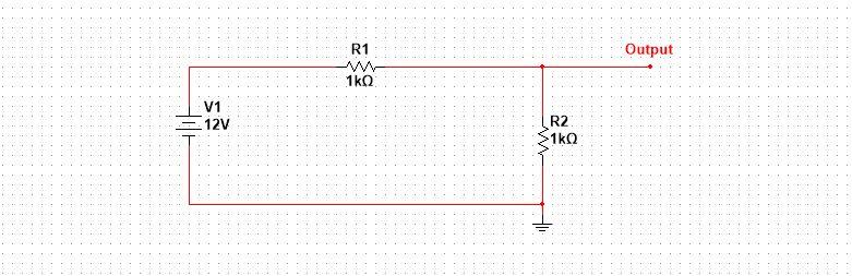 Resistor voltage divider design