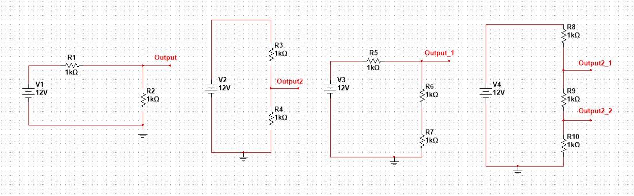 voltage divider circuit diagram yaman